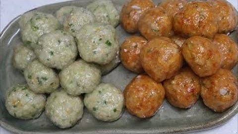 만두피 없는 만두 만들기~How to cook dumplings without skin