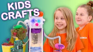 Make a Toy Robot!  | KIDS CRAFTS | Universal Kids