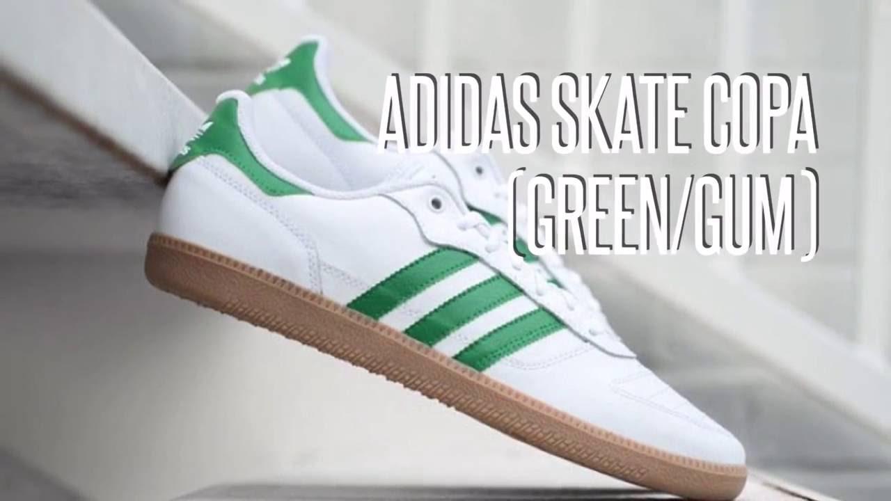 adidas skate copa (grüne / kaugummi) / turnschuhe star youtube