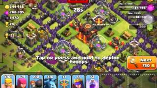 Clash of clans-broke 2300. Road to master league. Part 3