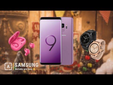 Samsung vianočné tipy na darčeky pre ženy