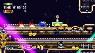 [WR] Sonic Mania - Stardust Speedway Act 2 Speedrun (Sonic) - 0:33.54