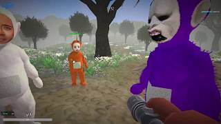 One day, in Teletubby Land 2 (EARRAPE WARNING)
