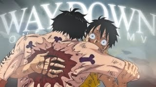 Gambar cover [One Piece AMV] - WAY DOWN WE GO | 30k+