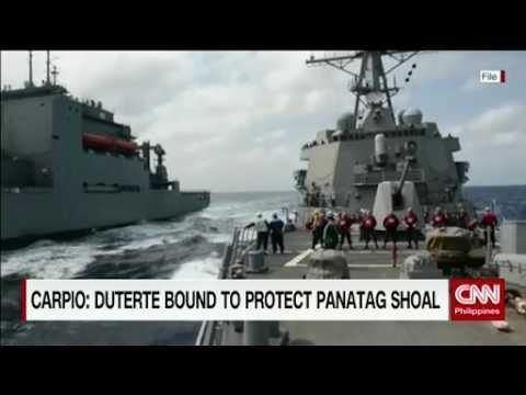 Duterte bound to protect Panatag Shoal