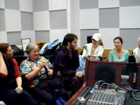 Maharimbas Live Radio Interview in Uzhgorod, Ukraine
