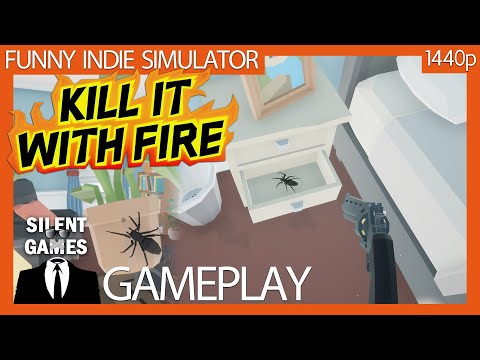 Kill It With Fire Pc Gameplay No Commentary 1440p Youtube