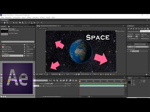 After Effects Tutorial: Creating a 3D Space/Stars Environment