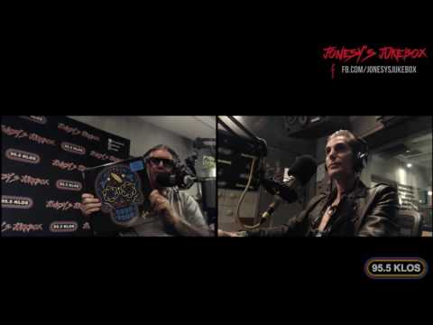 Perry Farrell In-Studio on Jonesy's Jukebox