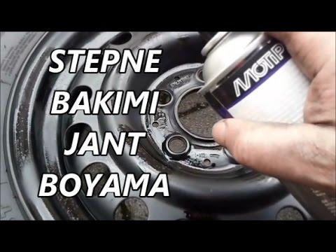 STEPNE BAKIMI VE JANT BOYAMA NASIL YAPILIR...