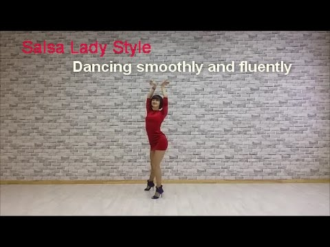 Salsa lady style - dancing fluently and smoothly by Anna LEV