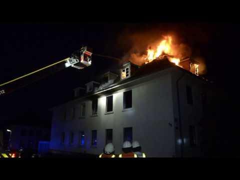 Kassel: Mann stirbt bei Brand in Mehrfamilienhaus - Fasanenhof
