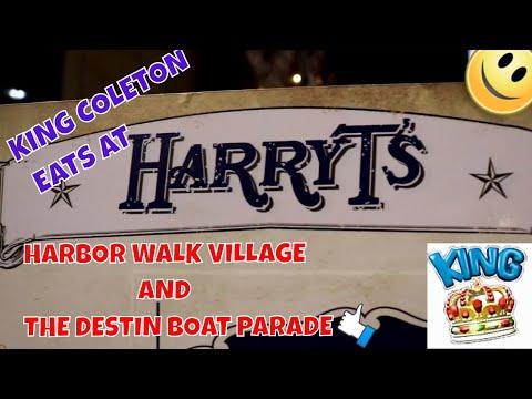 Harry T's, Harbor Walk Village And The Destin Boat Parade!