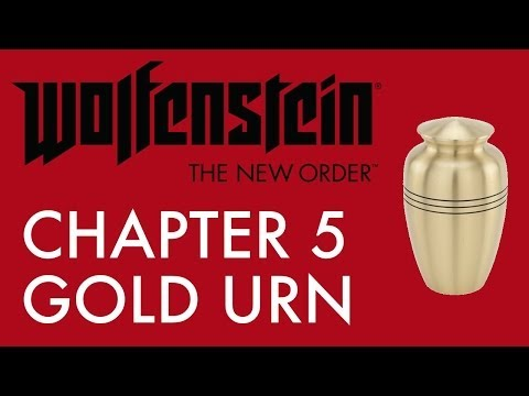 How To Find Gold Urn Collectible In Chapter 5: A New Home (Wolfenstein: The New Order)