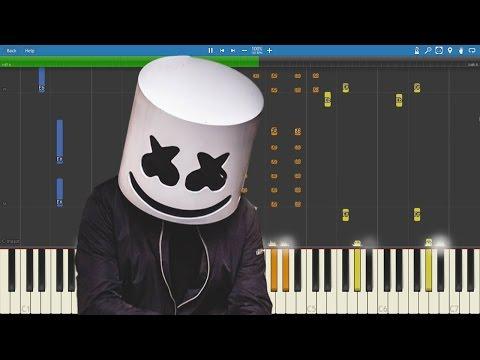 Marshmello  Summer  Piano   Tutorial