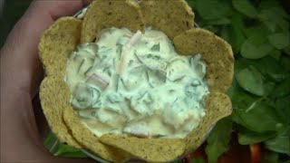 Amazing & Simple Homemade Spinach Dip