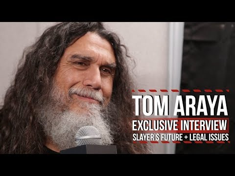 Tom Araya on Slayer's Future + Legal Issues