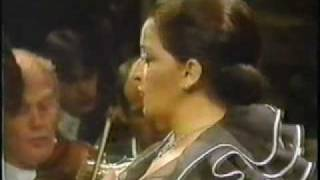 Teresa BERGANZA * El paño moruno * Manuel de Falla