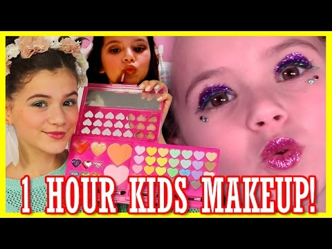 1 HOUR OF MAKEUP TUTORIALS FOR KIDS! | COMPILATION VIDEO!  |  KITTIESMAMA