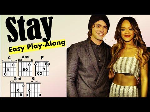 Stay (Rihanna ft. Mikky Ekko) - Moving Chord Chart