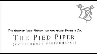 The Pied Piper by Rufus Reid - Full 2021 Bass Conference