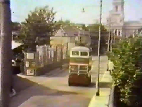 Portsmouth By bus in 1963