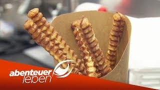 Pommes aus Waffelteig & Schokolade aus\'m Drucker - Food-Trends 2019 | Abenteuer Leben | kabel eins