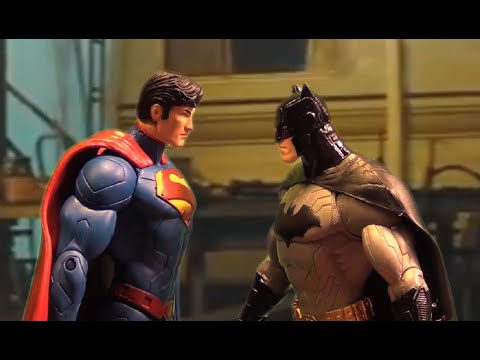 Batman v Superman: Dawn of Justice (Action Figure Parody/Toy Spoof) - Comic-Con Trailer Remake