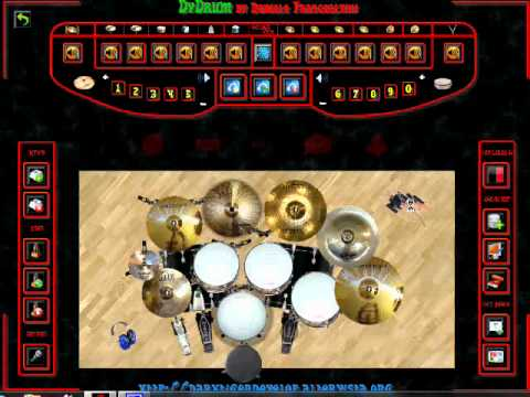 Dany's Virtual Drum (Last Child - Tiada Lagi) Drum Cover.wmv