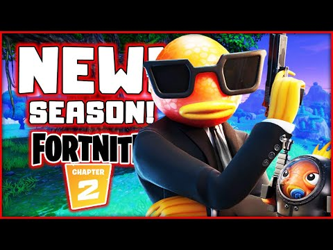 Fortnite Chapter 2 Season 2! New Fishstick Skin! Live Sub Games!