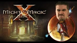 AngryJoe Plays Might & Magic X!