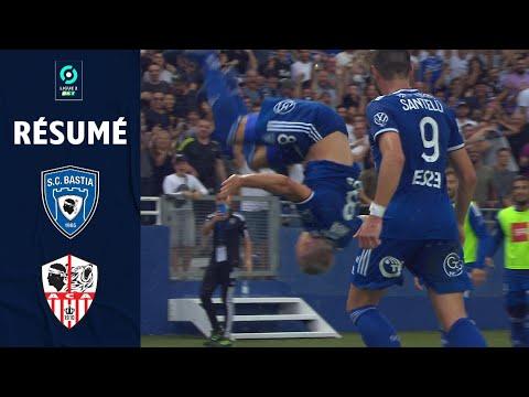 CA Bastia AC Ajaccio Goals And Highlights