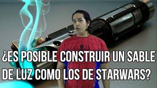 ¿Es posible construir un sable de luz como los de StarWars?