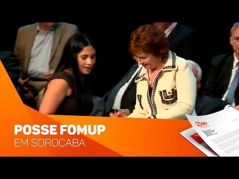 FOMUP Fórum para debater políticas públicas em Sorocaba - TV SOROCABA/SBT