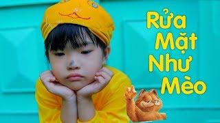 Bé Mai Vy Hát Rửa Mặt Như Mèo ♫ Nhạc Thiếu Nhi Cho Bé ♫ Music For Kid