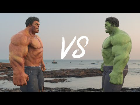 Hulk VS Red Hulk - Dance Battle In Real Life 4K !