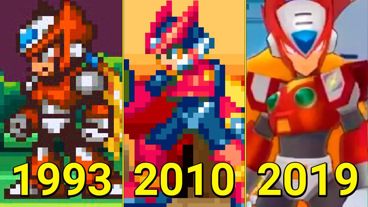 Evolution of Zero in Games 1993-2019