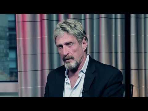 John McAfee Security Expert - Bitcoin 2017