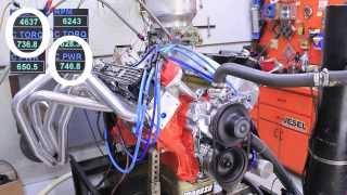 Chrysler Mopar 440 stroked to 543CI 750HP 740 ft/lbs