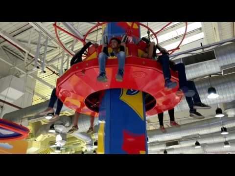 Sky ride, entertainment section, 4th floor, DLF mall of India, Noida