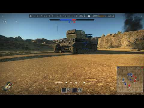 WT-Tank EP64 |Second Battle of EL Alamein|Wirbewind|Fly by View|Random View|2016
