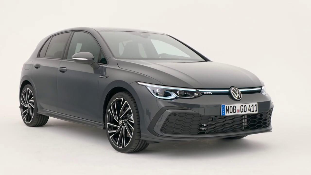 2021 vw golf 8 gtd - diesel hot-hatch ? - youtube