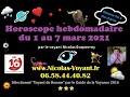 Horoscope général du 1 au 7 mars 2021