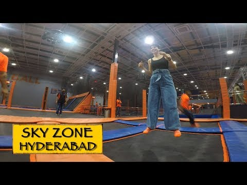 Sky Zone Trampoline Park || Hyderabad