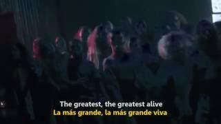 Sia   The Greatest Official Video Sub  Español + Lyrics