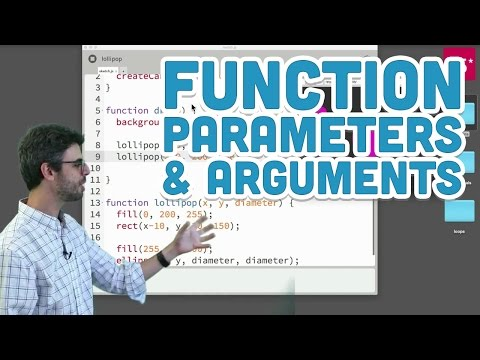 5.2: Function Parameters and Arguments - p5.js Tutorial