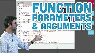 5.2: Function Parameters and Arguments - p5.js Tutorial thumbnail