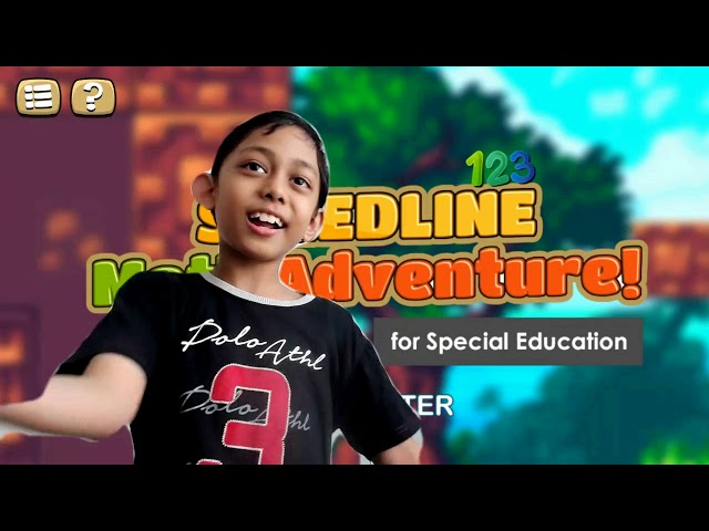 Speedline Math Adventure mobile game for special education