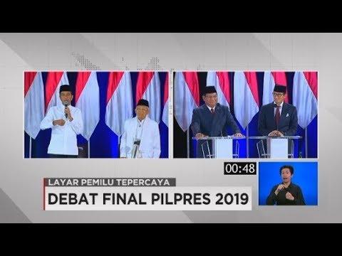 OkeOce Sandiaga Vs Dewi Dedi Ma'ruf Amin Di Debat Final Pilpres 2019