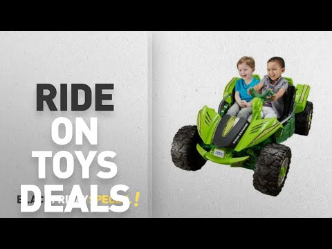 Walmart Top Black Friday Ride On Toys Deals: Power Wheels Dune Racer Extreme 12-Volt Battery-Powered